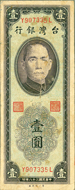 NT$1 Banknote